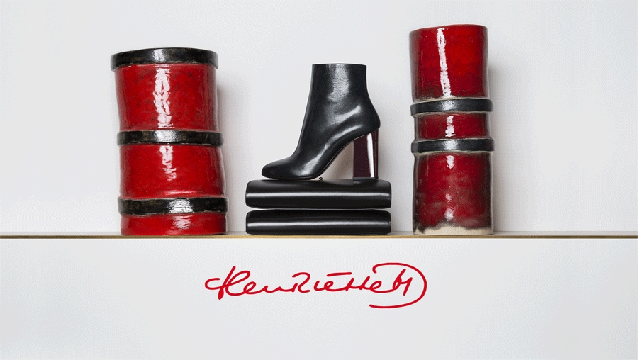 Henriëtte chez Paul Smith